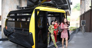 """Cáp treo ở Hòn Thơm – Phú Quốc """"free"""" vé dành cho trẻ em"""